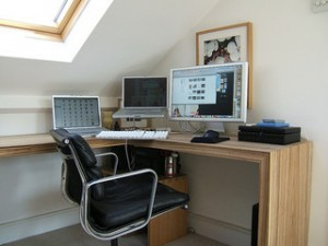 Home Office Set Up The L Desk Smarter